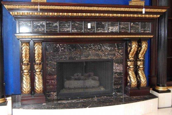 24: Fireplace Mantel Surround