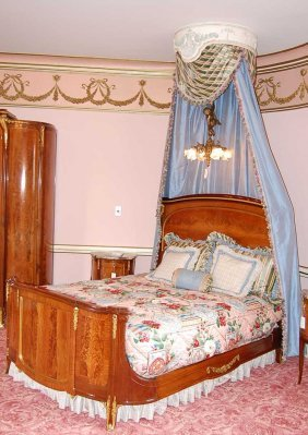 21: Louis XVI French Bed