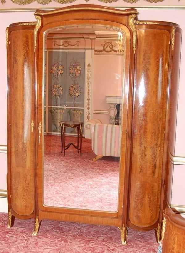 22: Louis XVI French Armoire