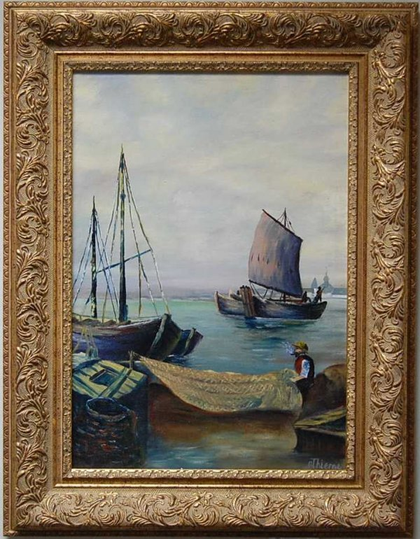 5: Anthony Thieme Oil on Canvas Painting