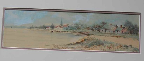 9: William La Montague Cary Watercolor