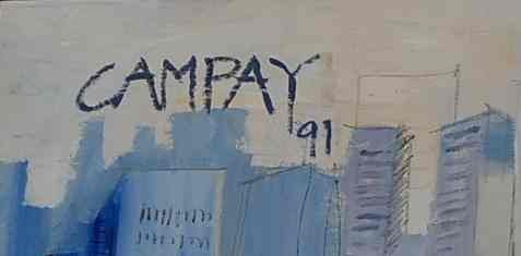 141: Dennis Campay Huge Wall Painting - 2