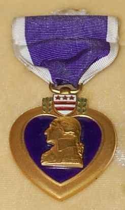 1: Purple Heart Medal