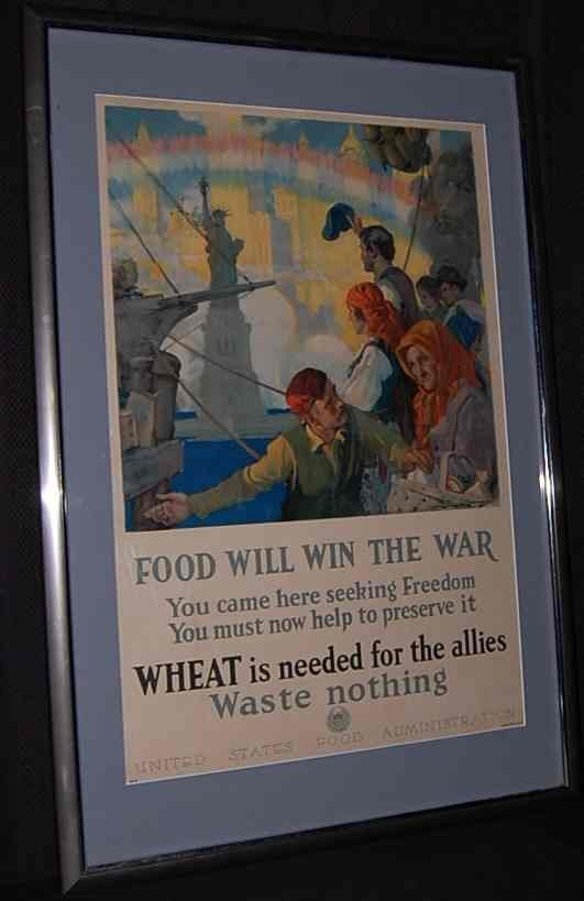 3: Food Will Win the War Poster
