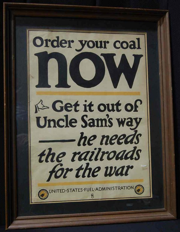 11: Order Your Coal Now War Poster