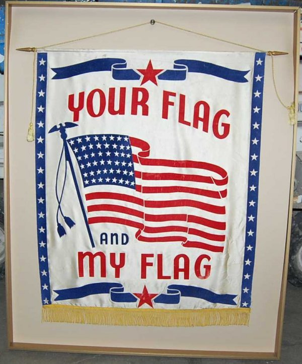 15: Your Flag & My Flag Banner