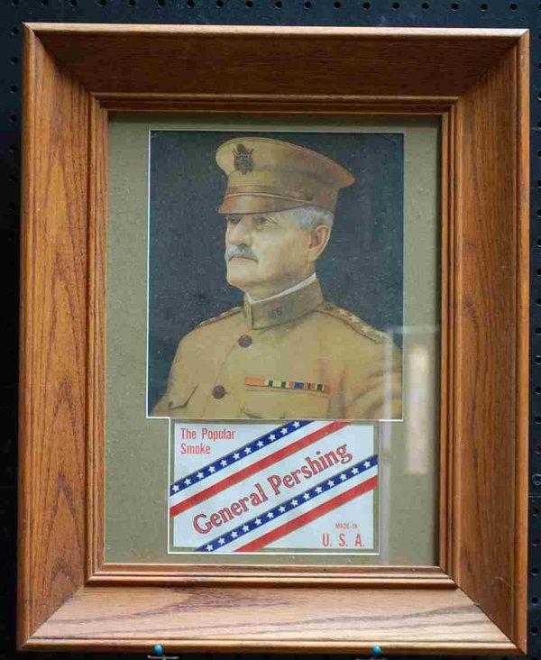 17: General Pershing Cigarette Advertisement