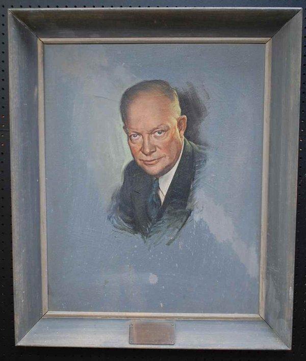 6: Portrait of Dwight D Eisenhower