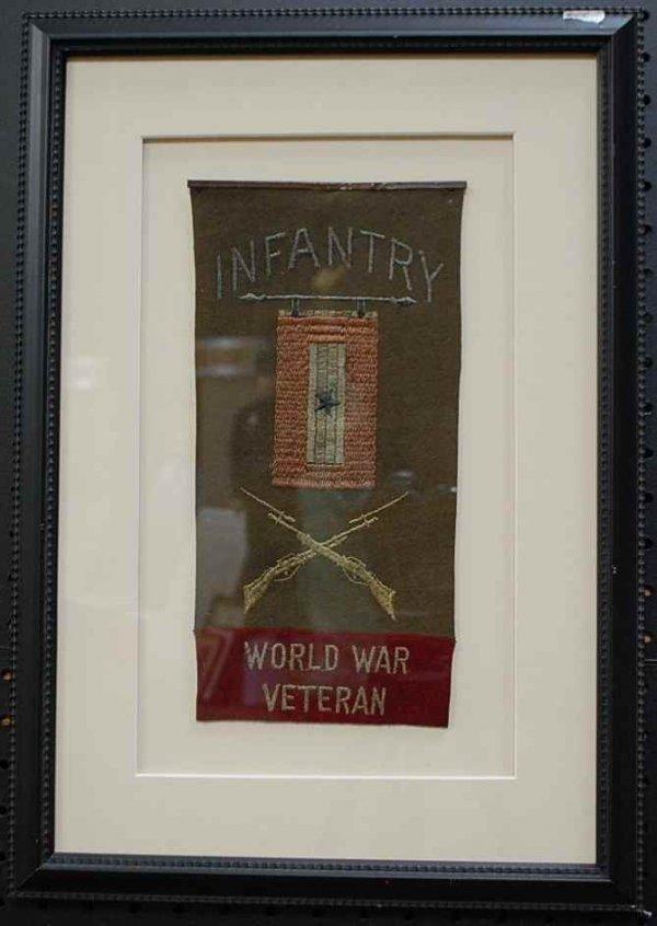 14: Authenic World War Infantry Veteran Banner