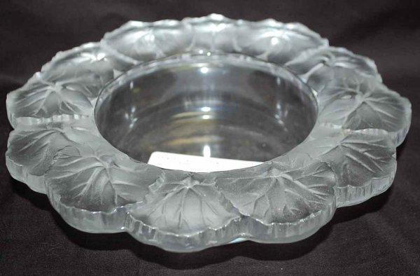 1: Lalique Honfleur Bowl