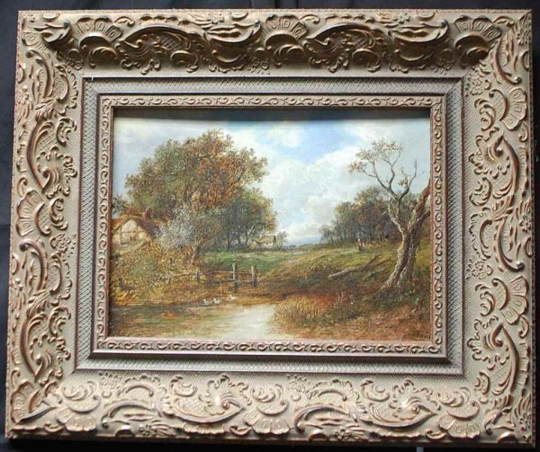 5: Joseph Thors Oil on Board Painting
