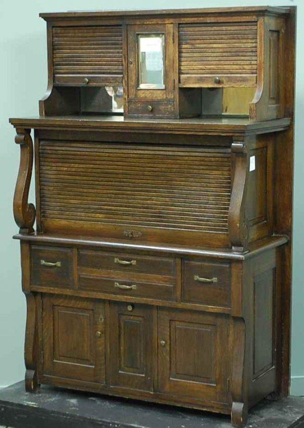 20: American Oak Dental Cabinet ca 1890