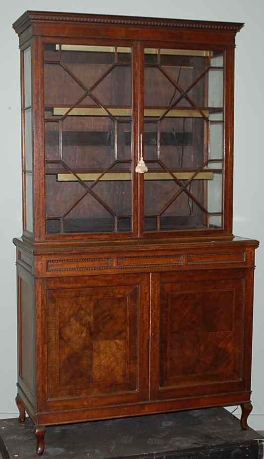 8: Georgian Style Stepback Cupboard