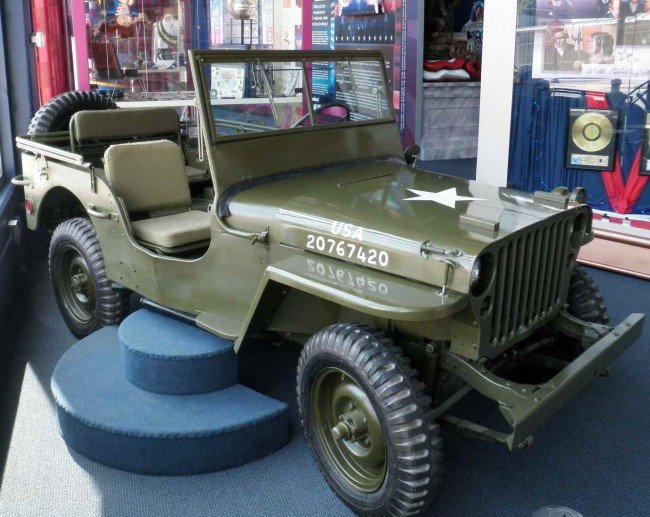 60: Restored 1945  Willys Army Jeep from Museum