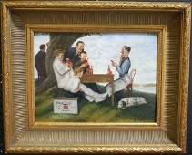 25 Joseph Leyendecker Schmidts Beer Illustration Paint