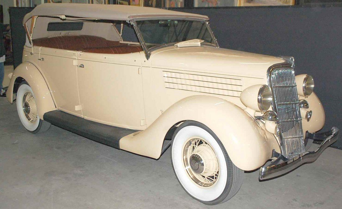 96: TOTALY RESTORED 1935 FORD PHAETON