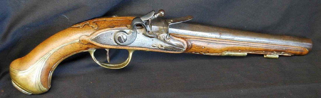 7: LA BORDE FRENCH DUELING PISTOL