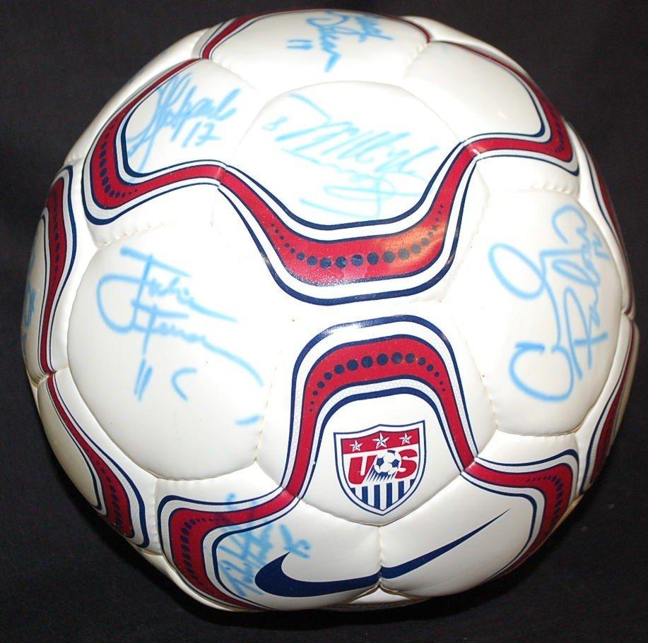 24: US LADIES 96 WORLD CUP SOCCER TEAM AUTOGRAPHS