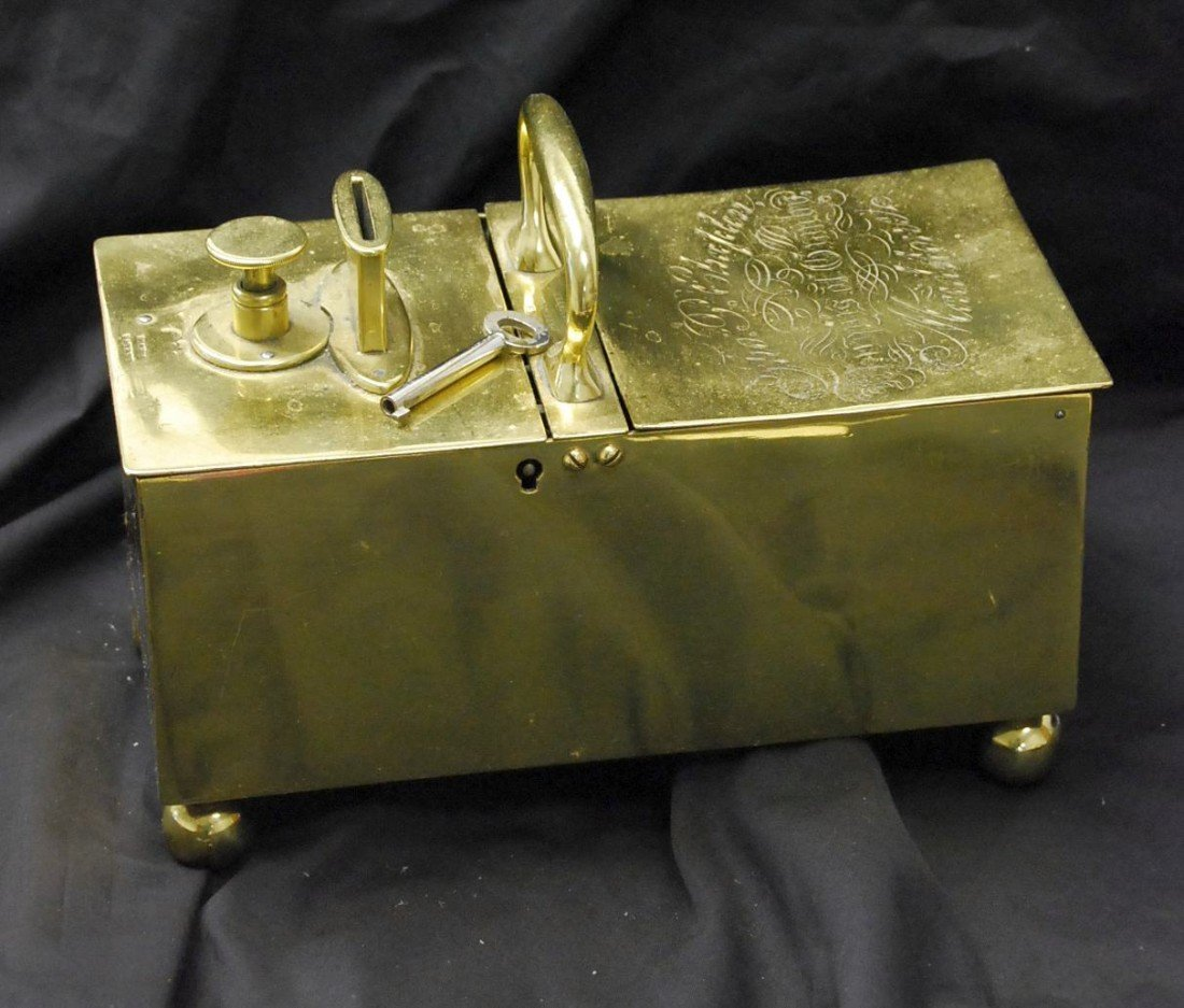350: ANTIQUE COIN OPERATED TOBACCO HONOR BOX - RARE