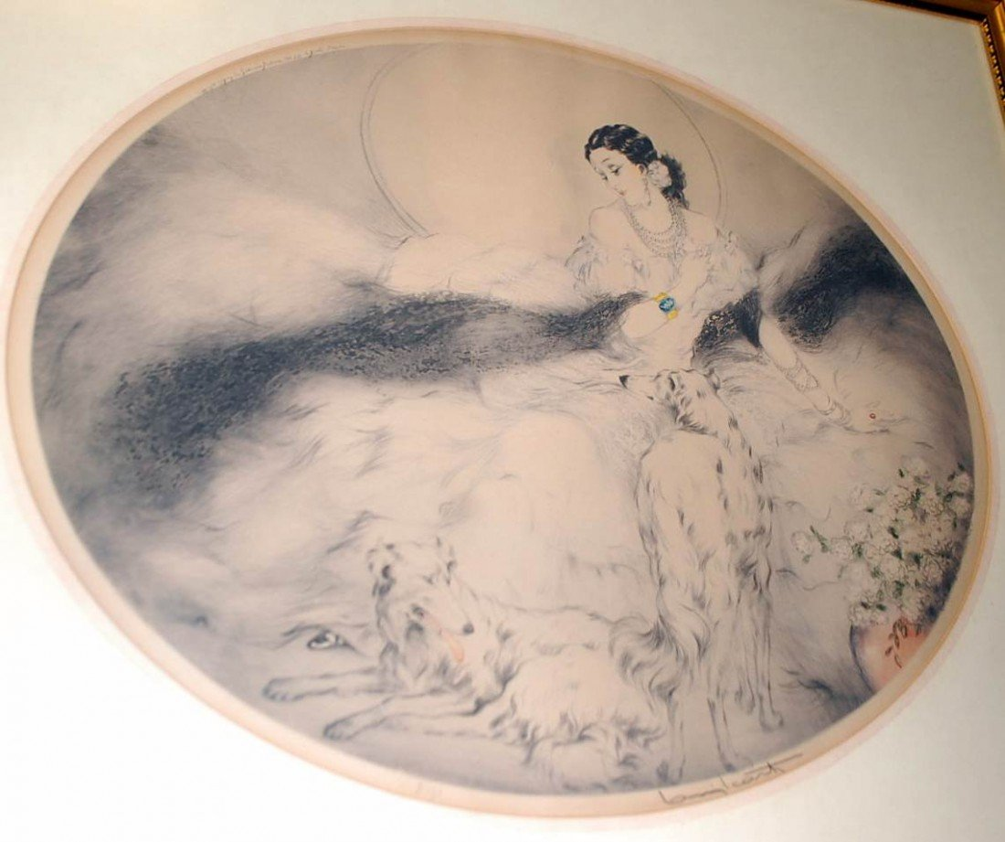 005: LOUIS ICART DRYPOINT AND ETCHING