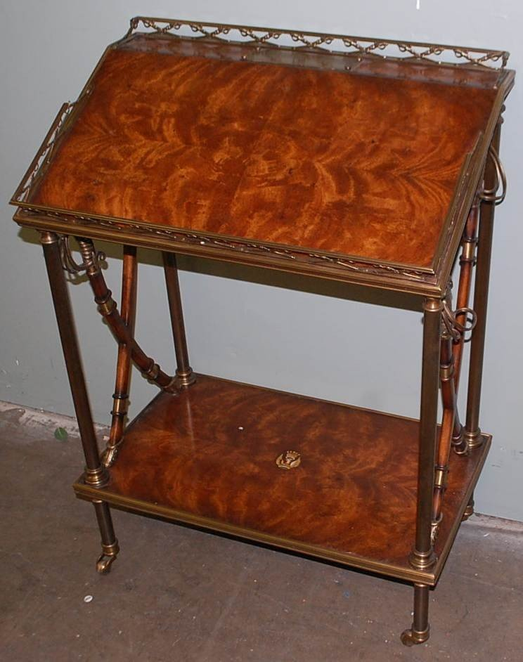 14: THEODORE ALEXANDER ALTHORP MILITARY DESK