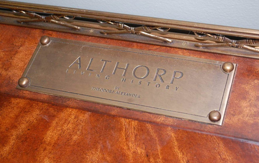 14: THEODORE ALEXANDER ALTHORP MILITARY DESK - 2