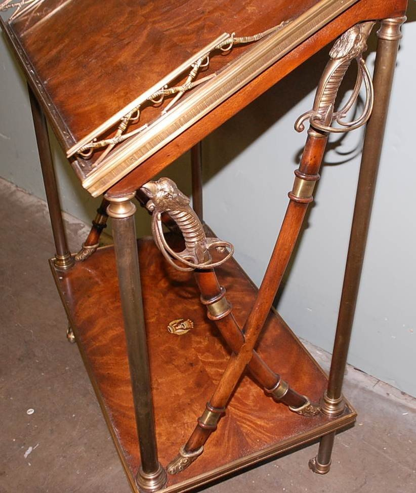 14: THEODORE ALEXANDER ALTHORP MILITARY DESK - 5