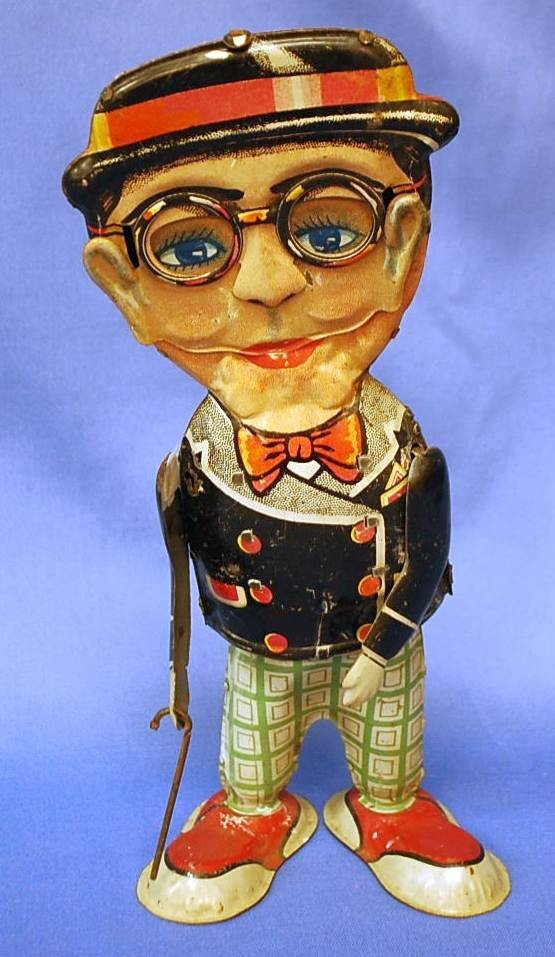 107: WINDUP MAN WITH GLASSES