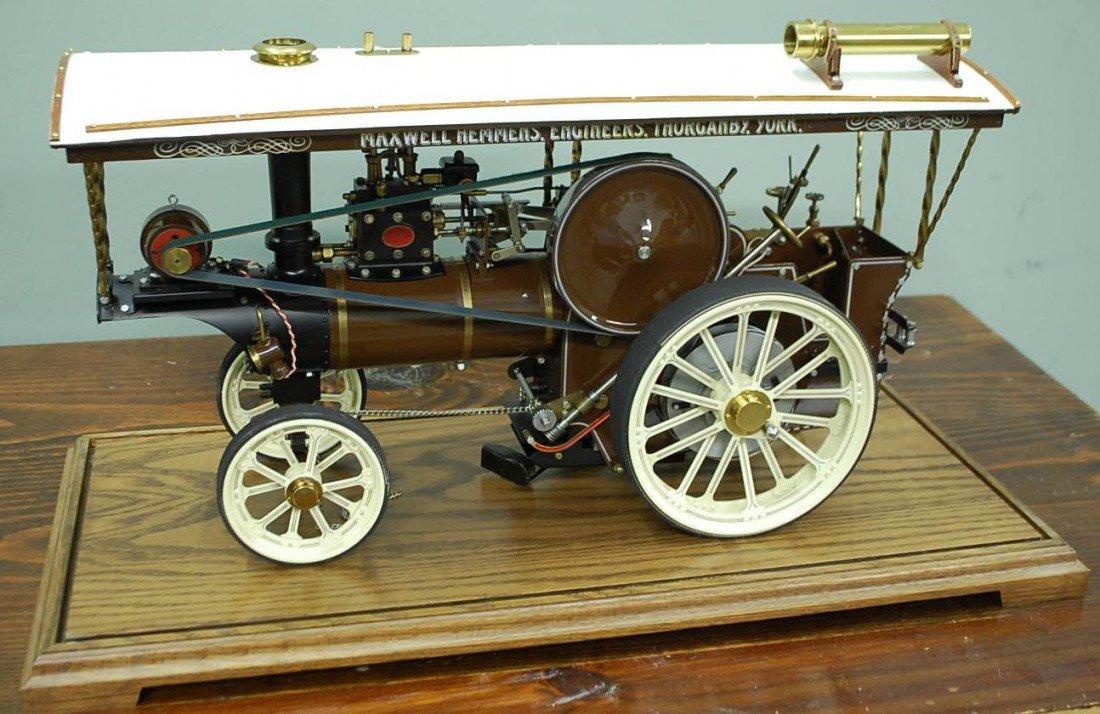116: MAXWELL HEMMONS WORKING STEAM ENGINE