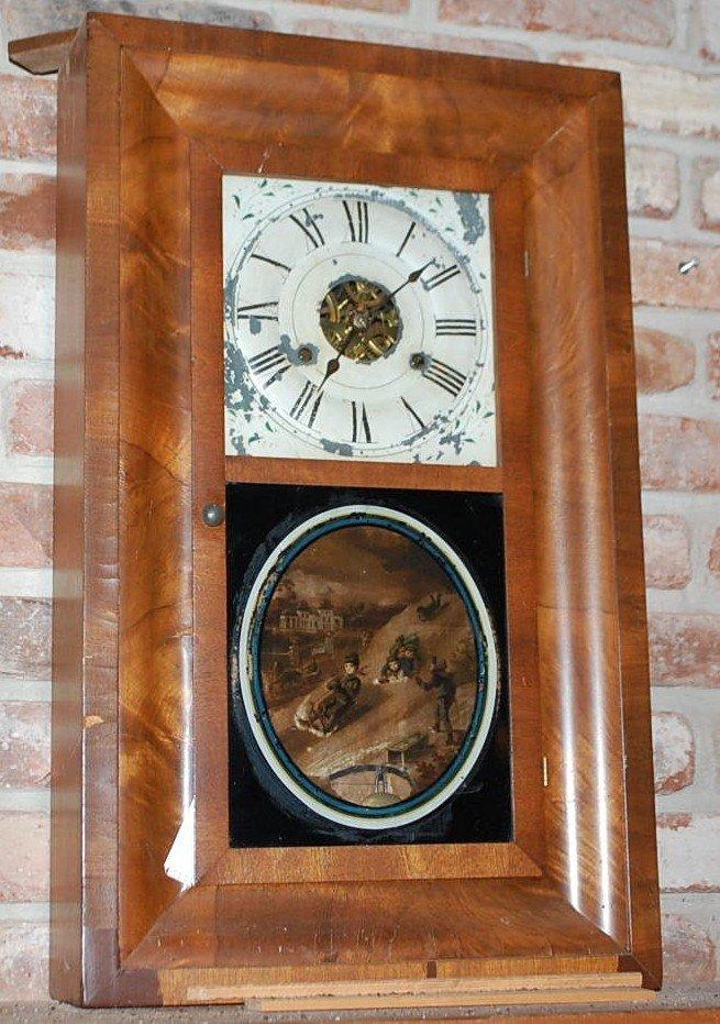 011: SETH THOMAS OGEE MANTEL CLOCK