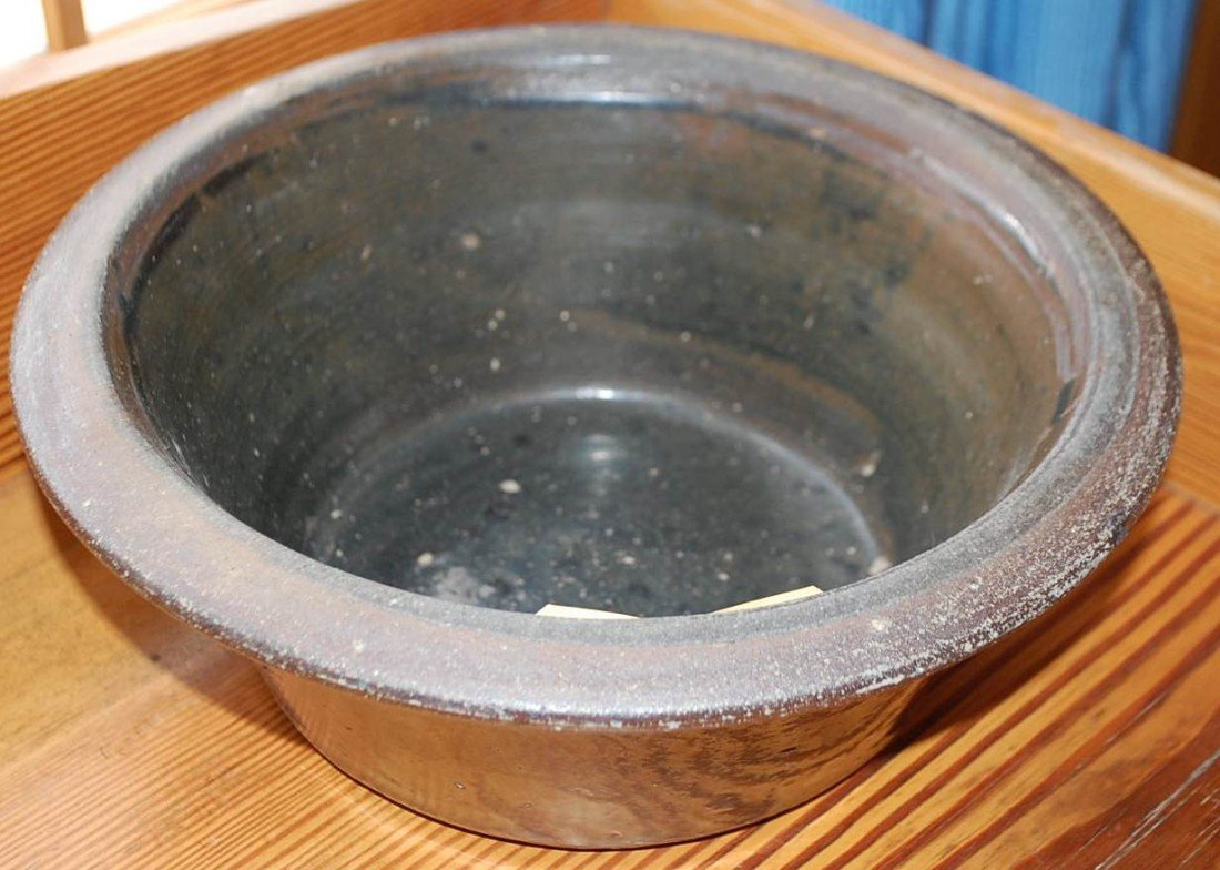 017: EARLY POTTERY BUTTER BOWL