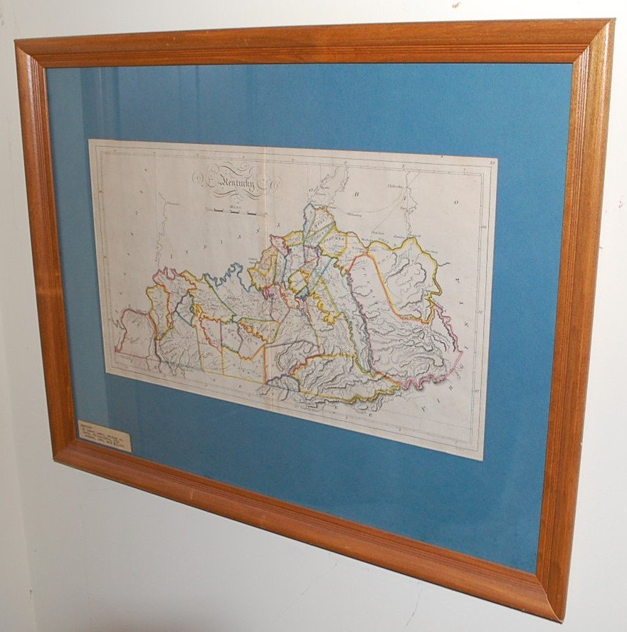 035: STATE OF KENTUCKY 1814 MAP