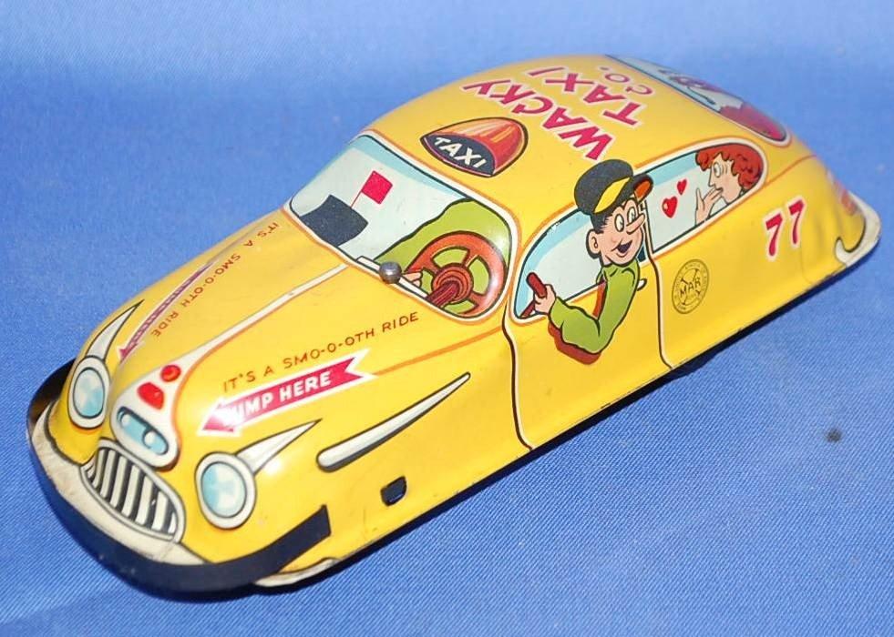 005: MARX WACKY TAXI CO FRICTION CAR