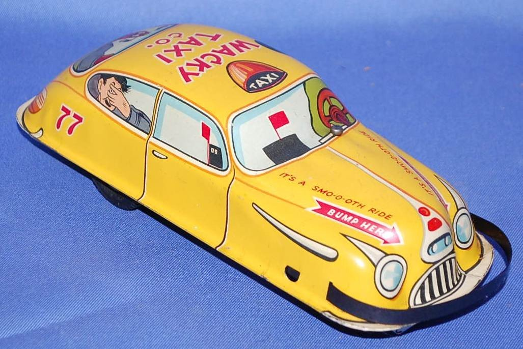 005: MARX WACKY TAXI CO FRICTION CAR - 2