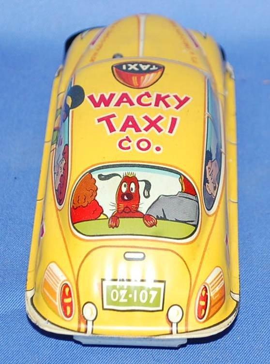 005: MARX WACKY TAXI CO FRICTION CAR - 3