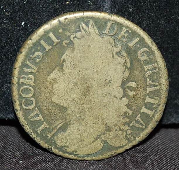 010: GREAT BRITTAIN 1689 COIN