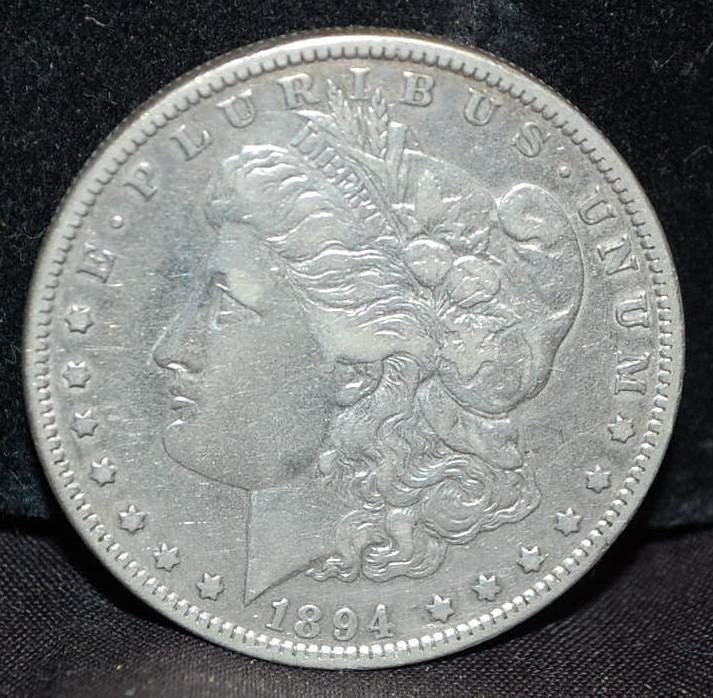 164: KEY DATE 1894 US MORGAN SILVER DOLLAR