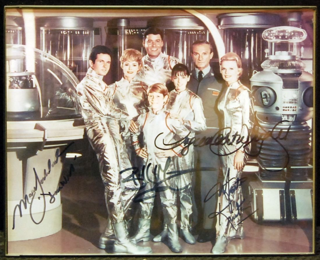 001: Autographed Cast Picture from Lost in Space