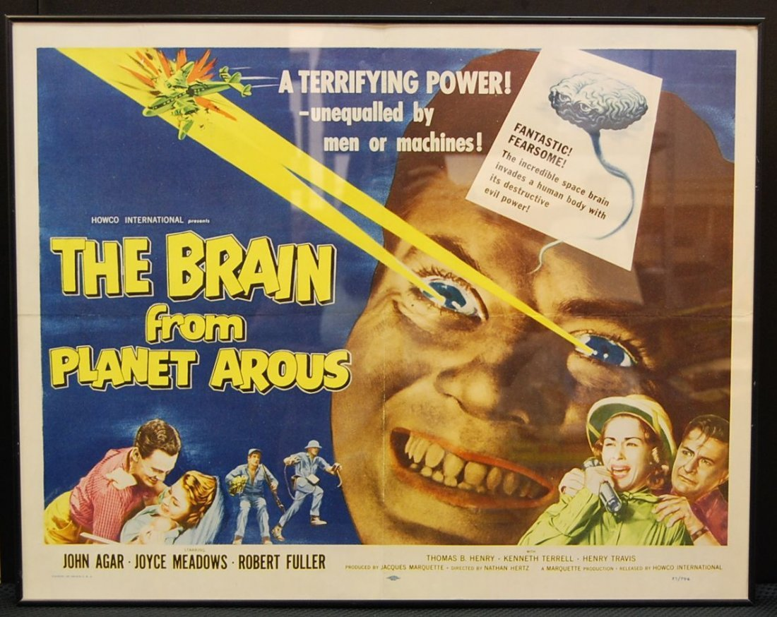 012: The Brain From Planet Arous movie poster