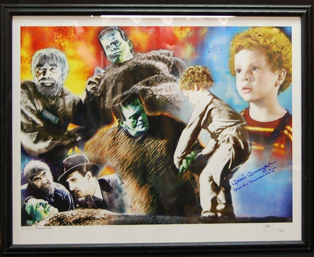 022: Son of Frankenstein Autographed Original Print