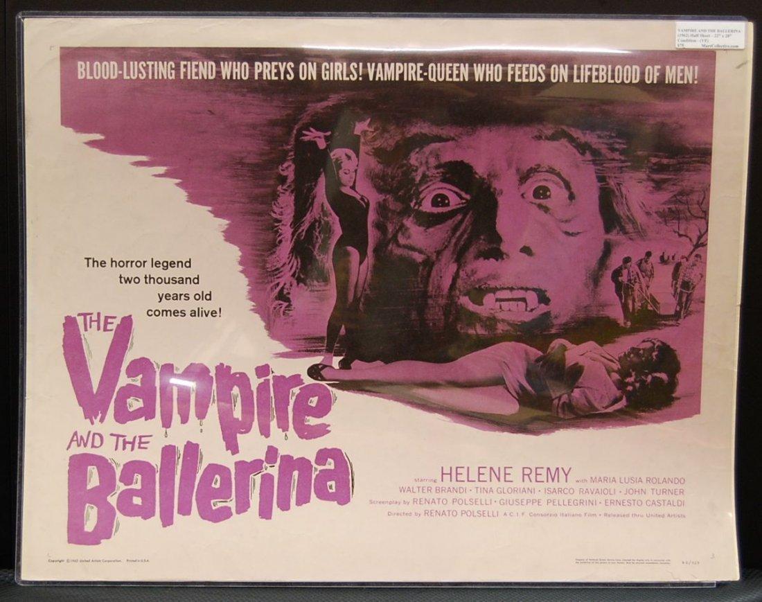 024: The Vampire and the Ballerina (1962) Half Sheet
