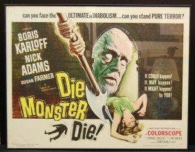 Die Monster Die Movie Poster