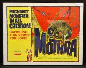 Mothra (1962) 1 Sheet