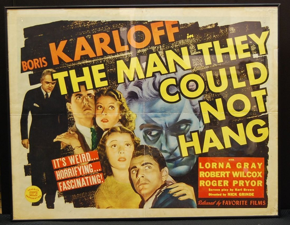 062: The Man They Could Not Hang Movie Poster