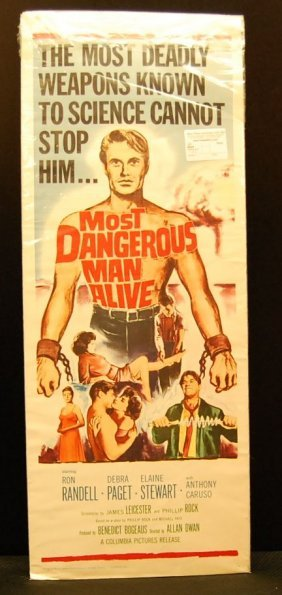 Most Dangerous Man Alive Movie Poster