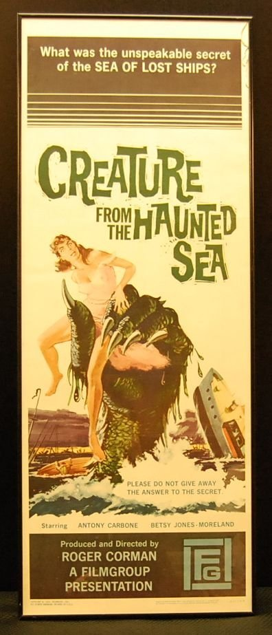 063: Creature From the Haunted Sea Movie Poster