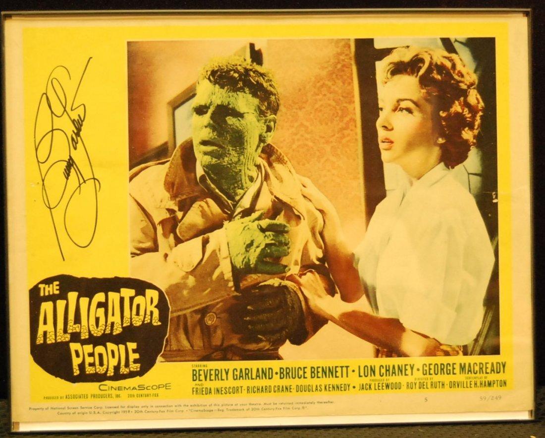 019: Autographed Movie Card - The Alligator People