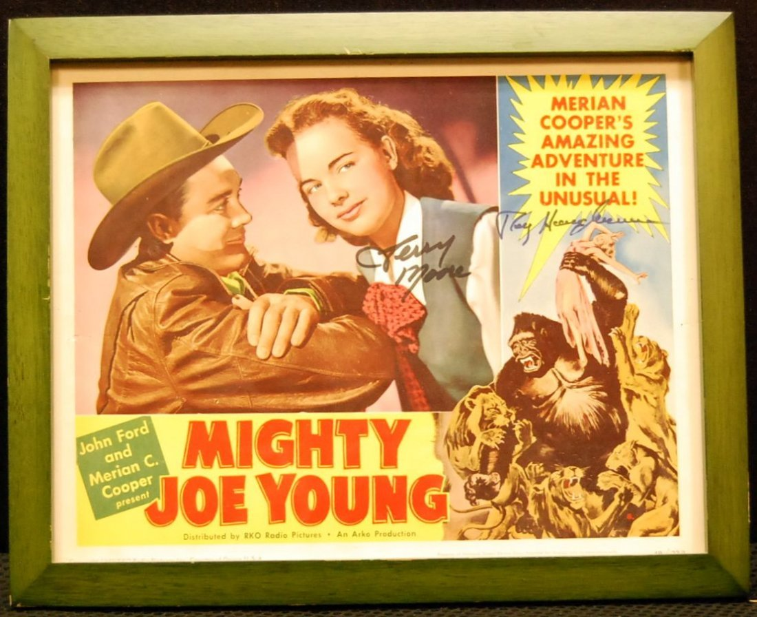 049: Autographed Movie Card for Mighty Joe Young