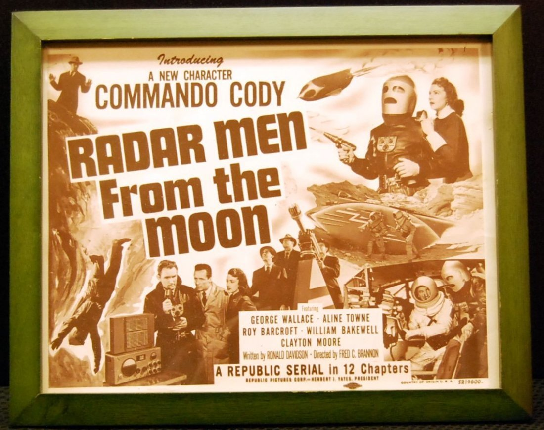 059: Movie Card for Radar Men From the Moon