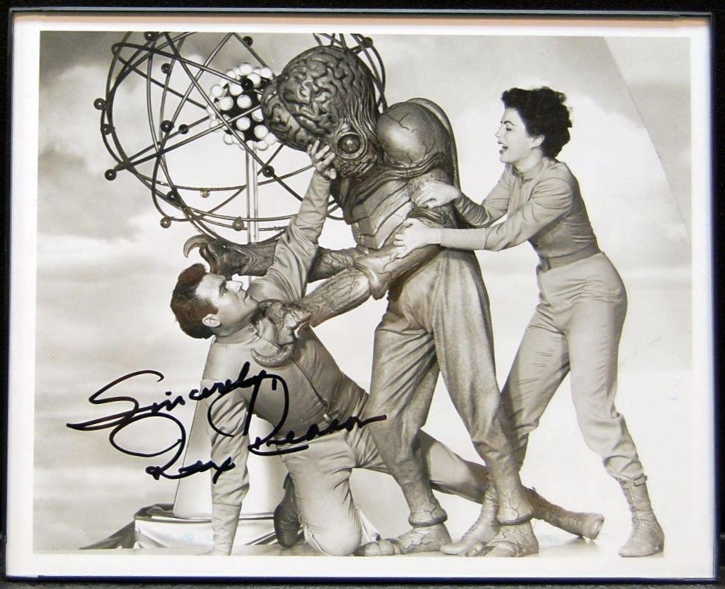 011: Rex Reason Autographed Picture